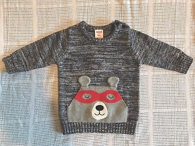 Baby Boy or Girl Seed Heritage Knitted Jumper Size 000 BNWT