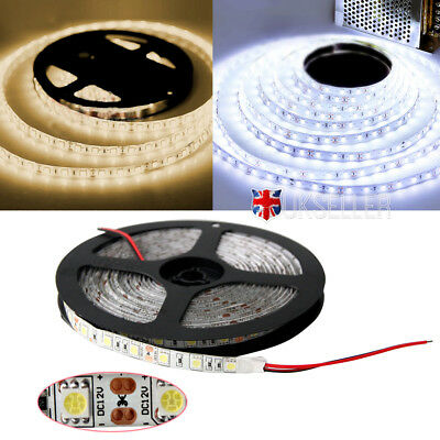 Waterproof 5M LED strip Light 12V 5050 SMD warm rgb Chirstmas tree decoration