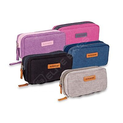 Elite Cooler Bag / Cool Pouch for Insulin & Diabetic Kit Organiser-Choose Colour