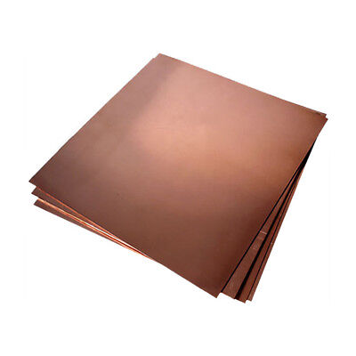 "16 oz. C110 Copper Sheet (.021"") 24  GA : 24 inches x 48 inches"