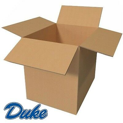 "XXL Cardboard Boxes - Strong Double Wall Removal Moving Boxes 24x18x18"" LARGE"