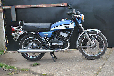 Yamaha Rd250 1973 Re Commission And Ride Or Restore
