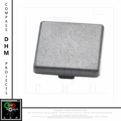 Profile cover cap black 20*20 mm - 5 pieces