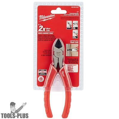 "Milwaukee 48-22-6107 7"" Diagonal Cutting Pliers New"