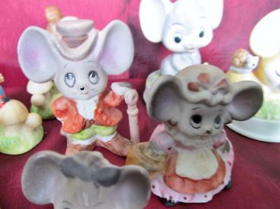 Vintage Lot 11 Mouse Mice Collection Taiwan Kt3094B
