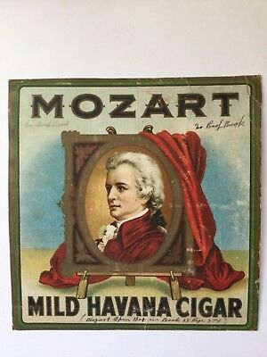 Mozart Cigar Sign