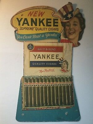 Yankee Easel Back Cigar Sign