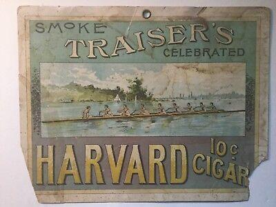 Harvard Cigar Hanging Sign