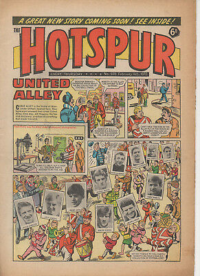 The Hotspur 539 Fine 14Th Feb 1970  Dc Thomson Uk Comic