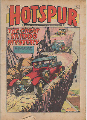 The Hotspur 593 Very Good 27Th Feb 1971 Dc Thomson Uk Comic