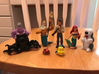 The Little Mermaid Ariel Playset 7 Figures
