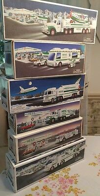 Lot Of 6 Hess Trucks 1988~1989~1998~1999~2002~2006 Nib