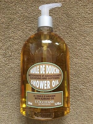 L'Occitane Almond Shower Oil 500ml (Jumbo Size)