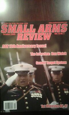 Small Arms Review,volume 13, All Issues 1-12 In Great Condition.