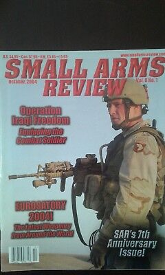 SMALL ARMS REVIEW, VOLUME 8, ALL ISSUES in GREAT CONDITION.
