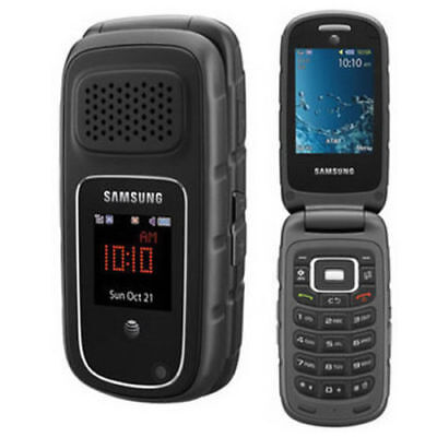 Samsung Rugby 3 III A997 Black (GSM Unlocked, AT&T, T-Mobile) Cellular Phone