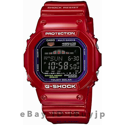 Casio G-Shock GWX-5600C-4JF G-Lide Multiband 6 Tide Graph & Moon Data Mens Watch