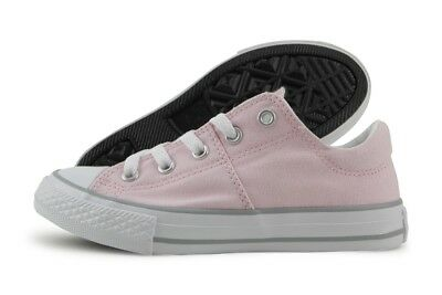 Converse Madison 658987F Arctic Pink Wolf Grey Canvas Casual Shoes Medium Youth