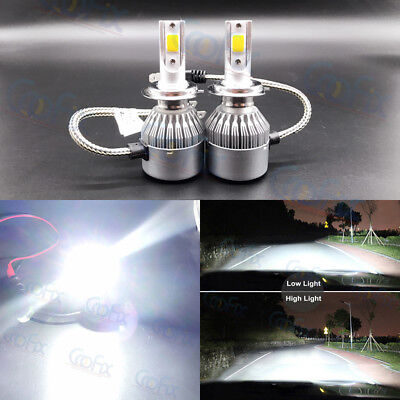 NEW 2x H7 H7LL 6000K Super White 55W 8000LM CREE LED Headlight Conversion Kits