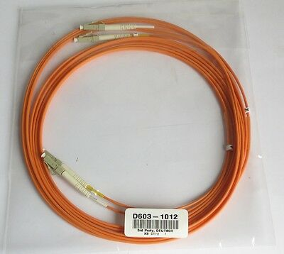 2x 2m  Optical Fiber Cable 20/125 OM3 LSZH LC Stecker + 1x 5m Infinicor 600 OM2