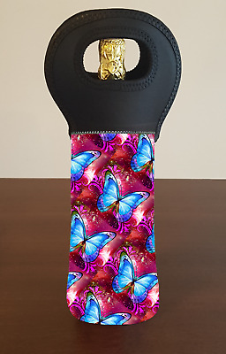 BUTTERFLY Wine Bottle Cooler Bag