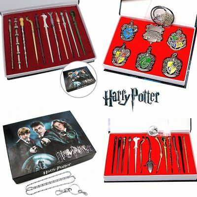 Harry Potter Hermione Dumbledore Magic Wand Box Collect Cosplay Pendant Toys