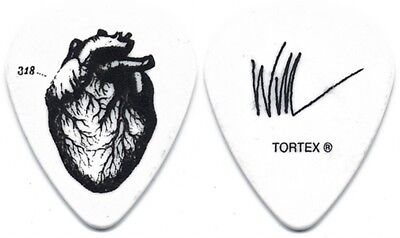 Alice in Chains Will DuVall authentic 2010 tour signature stage Guitar Pick AIC