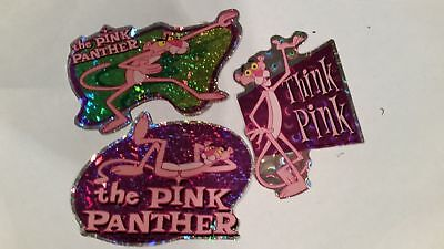 Pink Panther--3 Vintage--NEW--Vending Machine Stickers