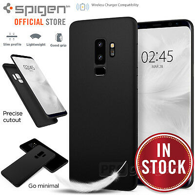 Galaxy S9/Plus S8 case Genuine SPIGEN Air Skin ULTRA-THIN Soft Cover for Samsung