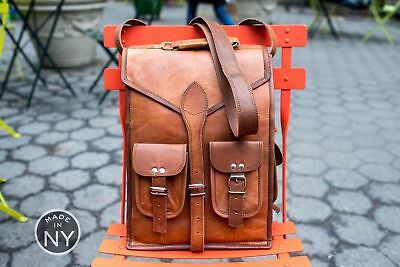 9bdf5b6fd297 Real Genuine Leather Backpack Women Bag Fashion Coolcy Style Vintage New  School