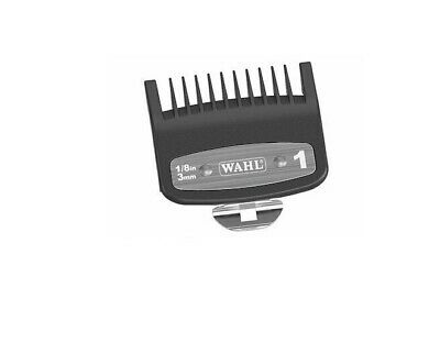 WAHL METAL BACKED CLIPPER ATTACHMENT COMB GUARD SET No 1,2,3,4. COMBO PACK
