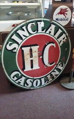 Sinclair Porcelain Sign