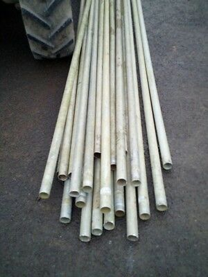 20 x 2 inch aluminium tubing in approx 15 ft lengths