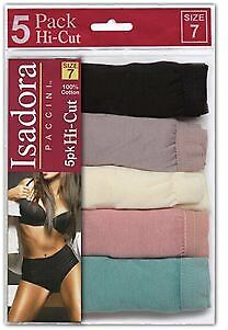 Women's Dusty Tones Hi-Cut Briefs 5-Pack Sizes 5-10 Case Pack 48 (2133503)