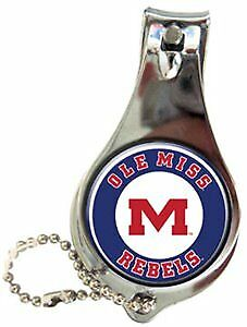 University of Mississippi - Keychain Nail Clipper Bullseye Case Pack 144 (193755
