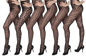 Isadora Women's Fishnet Lace Pantyhose Tights Case Pack 36 (2287549)