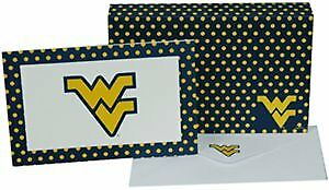 West Virginia University - Stationary Note Card Set (8 Sets) Case Pack 96 (19369