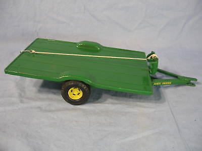 Restored John Deere Implement Delivery Trailer 1/16 scale