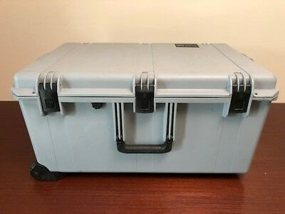 PELICAN STORM CASE iM2975 HUNTING CAMERA STORAGE CONTAINER (Rare Grey) in Color