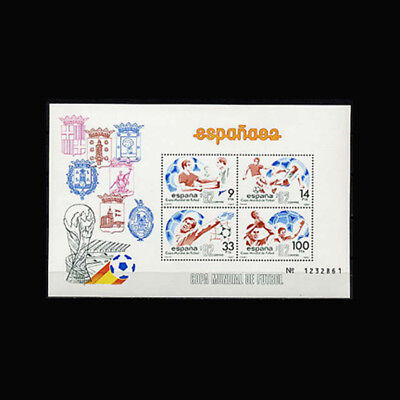 Spain, Sc #2295, MNH, 1982, S/S, Soccer, World Cup, CL56F
