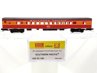 Z Scale MTL 552 52 180 Southern Pacific Smoothside Coach Car #2387