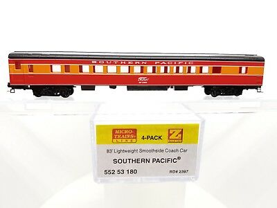 Z Scale MTL 552 53 180 Southern Pacific Smoothside Coach Car #2397