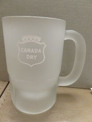 CANADA DRY FROSTED MUG (Heavy)