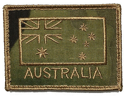 Australian National Flag ANF Patch- Subdued Finish on Mulitcam