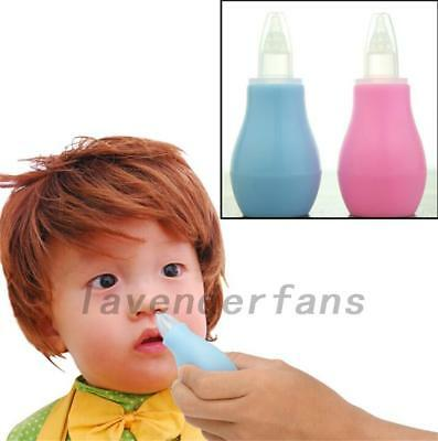Baby Infant Newborn Toddlers Nasal Vacuum Mucus Suction Aspirator Nose Cleaner