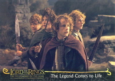 2001 LORD of the RINGS - TOPPS PROMO TRADING CARD [P2] - V/GOOD COND