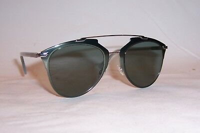 393417fd40761 New Christian Dior Reflected s 1Ro-5L Khaki Blue gray Green Sunglasses  Authentic
