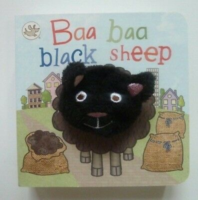 Baa Baa Black Sheep (Little Learners Finger Puppet) For Children Age 2 yr+, New