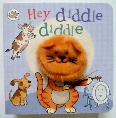 Little Learners Hey Diddle Diddle Finger Puppet Book, For Kids Age 2 year+, New