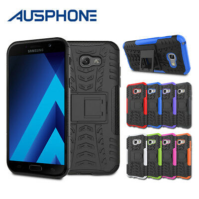 Slim Tough Armor Stand Heavy Duty Case Cover for Samsung Galaxy A5 A7 2017